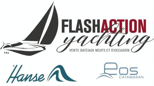 Logomarca de Flash Action Yachting