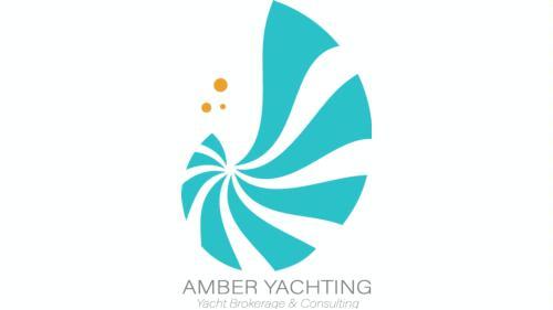 Logomarca de AMBER YACHTING - Yacht Brokerage & Consulting