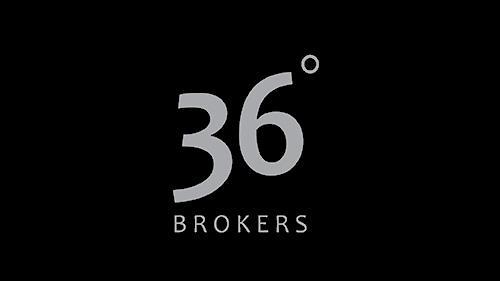 Logo de 36 Degrees Brokers