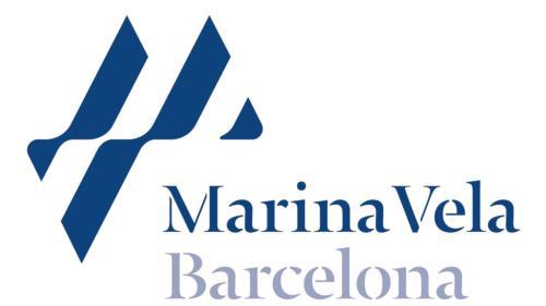 Logomarca de Marina Vela Barcelona
