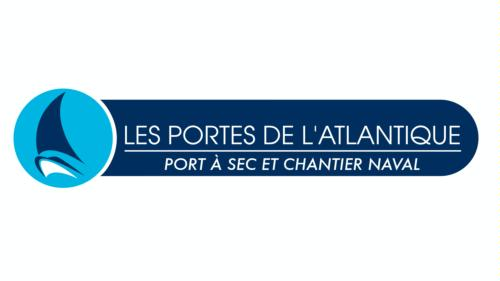 Logomarca de Les Portes de l'Atlantique