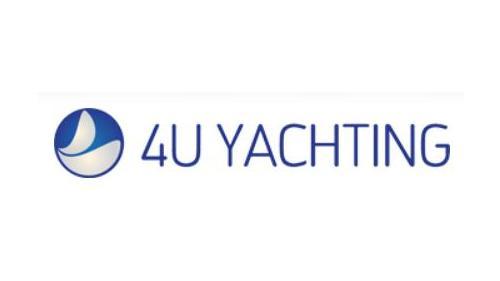 Logo de 4U Yachting · Charter - Brokerage - Management