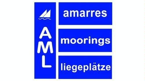 Logo de A.M.L  Amarres + Moorings + Liegeplätze AML