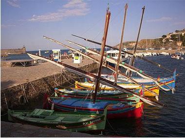 Port de plaisance de Collioure Pirineus Orientais