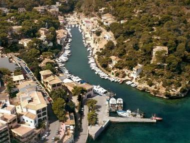 Puerto de Cala Figuera de Santanyí Mallorca