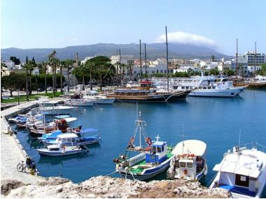 Port of Kos Dhodhekanisos