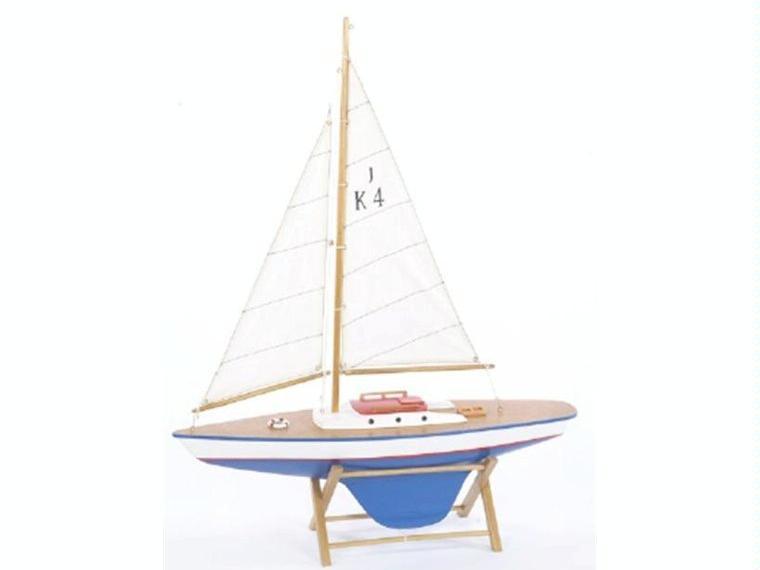 Velero de decoraci n n utica blanco otros 85048 cosas for Articulos decoracion nautica