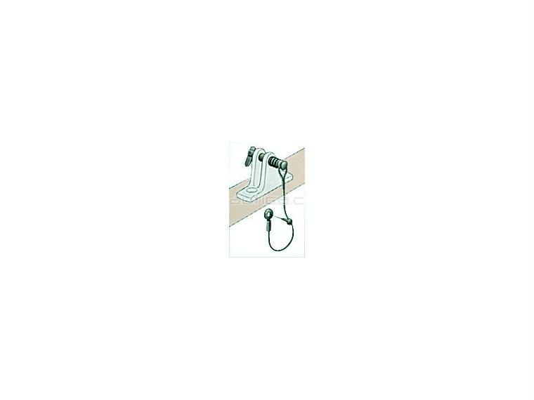 Pasador con cable inox para base soporte capota velas - Soportes para toldos ...