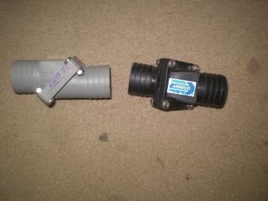 Valvula anti retorno jabsco para tubo de 36mm em segunda for Valvula anti retorno