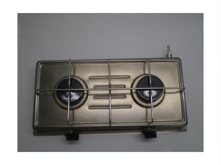 Cocina a gas de dos fuegos confort a bordo 66664 cosas for Cocina de gas de dos fuegos