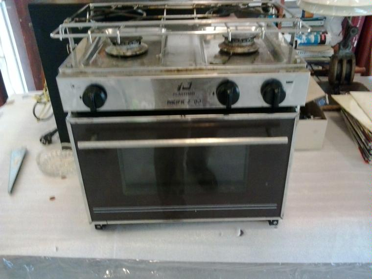 Cocina para barco con horno inox de segunda mano 52524 - Cocinas para barcos ...