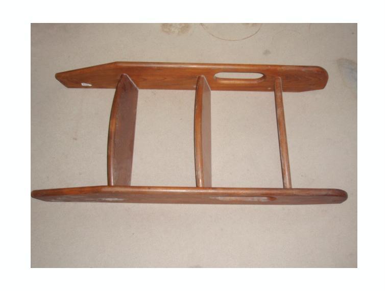 Escalera interior madera teka 3 pelda os de segunda mano - Escaleras de madera de segunda mano ...