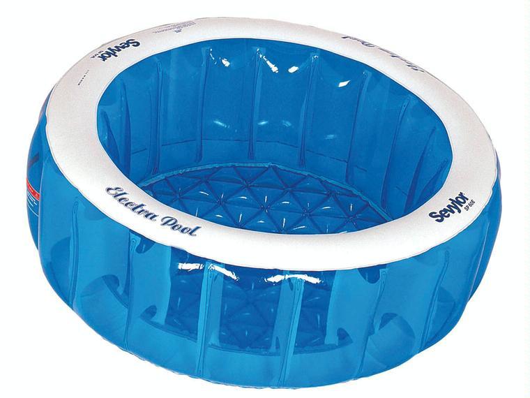 Piscina de suelo hinchable redonda sevylor otros 85652 for Precio piscina hinchable