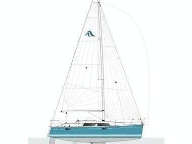Hanse 320 Vela monocasco