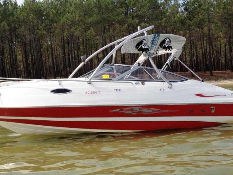 Mariah boats g 19 cabine en gironde barcos a motor de for Cabine del fiume bandera